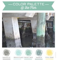 At The Pier | Sea Green Color Palette