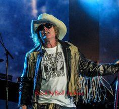 Axl Rose of Guns N' Roses, July 2016