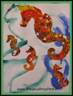 Mister Seahorse craft {The Usual Mayhem}