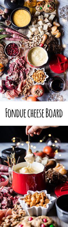 Cheese Fondue Board | halfbakedharvest.com @hbharvest