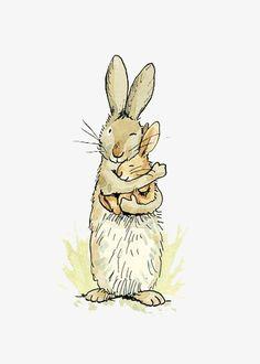 кролик, ручной кролик, мультфильм кролик, желтый кролик Изображение PNG