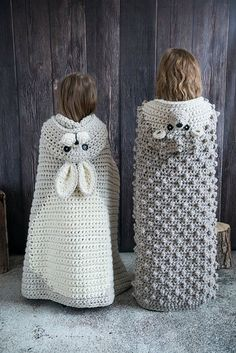 Woodland Bunny Blanket Crochet Pattern – Hooded Woodland Rabbit Blanket Crochet PATTERN MJ's Off The Hook Design – Mundo de ganchillo Crochet Blanket Patterns, Baby Blanket Crochet, Knitting Patterns, Crochet Blankets, Crochet Patterns For Baby, Crochet Designs, Crochet Amigurumi, Knit Crochet, Crochet Crafts