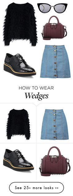 """""""Untitled #93"""" by cris-conde on Polyvore featuring Chicwish, Alexander Wang, Boohoo, Rebecca Minkoff and Fendi"""