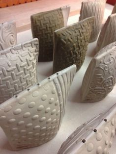 Slab Vase Ceramic (40)