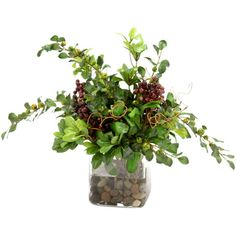 I pinned this Silk Greenery Arrangement from the Distinctive Designs event at Joss and Main!
