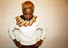 80s Swirl Pattern Patch Vintage Sweater by BannedFromTV on Etsy, $35.00