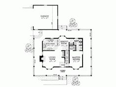 Farmhouse House Plan with 1673 Square Feet and 3 Bedrooms from Dream Home Source | House Plan Code DHSW45653