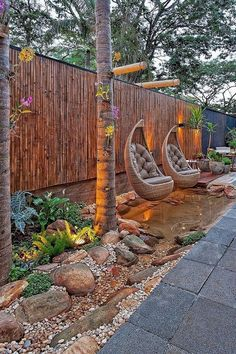 You can produce your backyard a space where it's possible to emerge and really relax in a cosy atmosphere or you could help it become a party atmosphere. Try out a number of these very simple backyard…MoreMore  #LandscapingIdeas