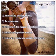Beneficios del ejercicio.