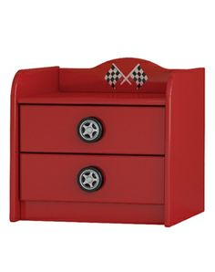 Talladega Bedside Unit (Red)