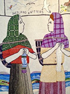 via blogspot lori times five - detail from the great tapestry of scotland -