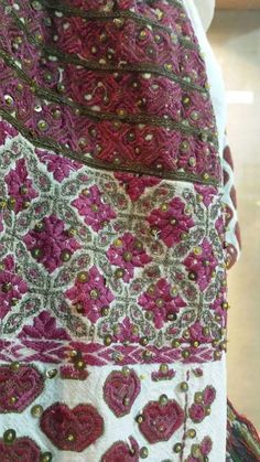 Folk Costume, Costumes, Folk Embroidery, Bohemian Rug, Patterns, History, Country, Blouse, Clothing