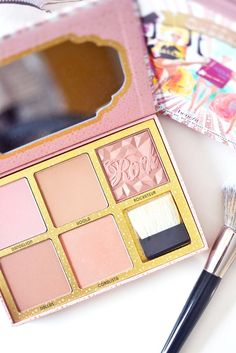 Usually, make-up palettes are not for me but Benefit Cosmetics have come up with… Benefit Cosmetics, Benefit Makeup, Cream For Dry Skin, Skin Cream, Blusher Makeup, Skin Care Specialist, Moisturizer For Oily Skin, Magical Makeup, Sensitive Skin Care