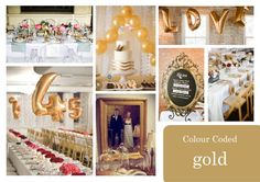 Check out this step-by-step post on How to Set Up a Holiday Gold Candy Table along with my girlfriend tips and shopping list! Golden Wedding Anniversary, Anniversary Parties, Purple Color Schemes, Gold Candy, Sparkle Party, Golden Birthday, Edible Glitter, Holiday Candy, Confetti Balloons