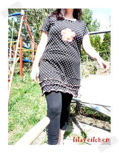 lilaveilchen: Jerseykleid by #allerlieblichst