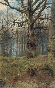 thewoodbetween:John Collier - Spring Wood