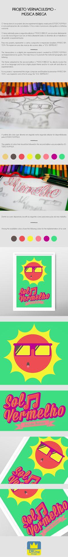 Projeto Vernaculismo | Sol Vermelho - Amado Batista.