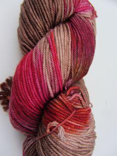 Ella Rae Lace Merino Worsted Hand Dyed Color 7 Sand, Orange, Berry 843189054910 | eBay