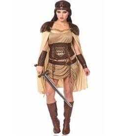 Celtic Warrior Goddess Adult Womens Costume - 351283   trendyhalloween.com #womenscostumes #trendyhalloween