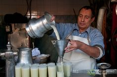Sugar Cane Juice on Streets of Cairo, Egypt