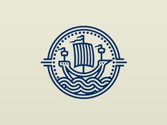 Merchant Ship Logo