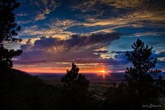 Casper Wyoming, Casper Mountain sunset. So beautiful!!
