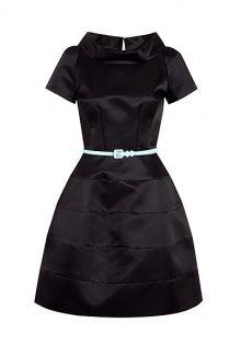Suzannah kaleidoscope silk poly twill dress