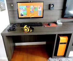 Resultado de imagen para decorar quarto gamer