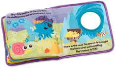 Amazon.com : Lamaze Cloth Book, Peek-A-Boo Forest : Baby Toys : Baby