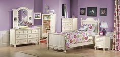 Kids Furniture-The Amber Collection-Amber Twin Bed