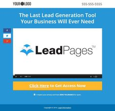 Latest Video Squeeze Page Free Template Best Landing Pages - Video landing page templates