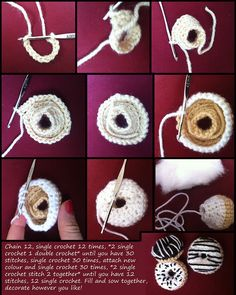 crochet your own donut!