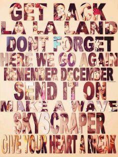 All favorite Demi Lovato songs <3