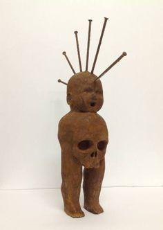 "Saatchi Art Artist Constantinos Alpha; Sculpture, ""Iron Maiden"" #art"