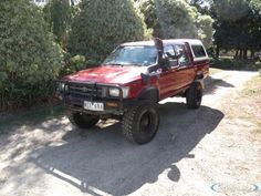 1991 Toyota Hilux DX LN106R Austrailian truck. I WANT.