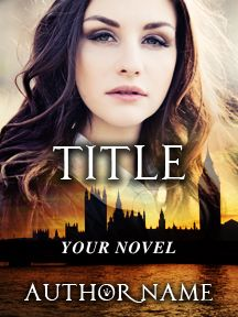 Londoner Lady - Brunette Woman - England | Customizable Book Cover by RLSather | SelfPubBookCovers: One-of-a-kind premade book covers where Authors can instantly customize and download their covers, and where Artists can post a cover and name their own price.
