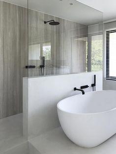 Dream House Interior, Dream Home Design, Home Interior Design, House Design, Bathroom Renos, Small Bathroom, Bathrooms, Diy Casa, Bathroom Design Luxury