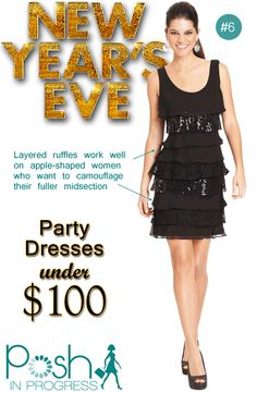 New Years Eve Party Dress Under $100 @Macy's #fashion #style #partydresses #dresses