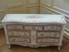 Rosemarie Torre - hand painted dresser