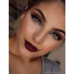 10 Fall 2015 Make-up Trends and Ideas! ❤ liked on Polyvore featuring beauty products and makeup