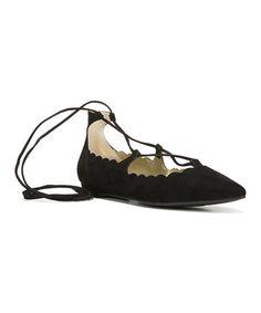 Love this Black Liza Flat on #zulily! #zulilyfinds