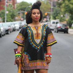 Traditional African Clothing for Women Shirt Cotton Dashiki Tops Plus Size Summer Print Blouse 10750