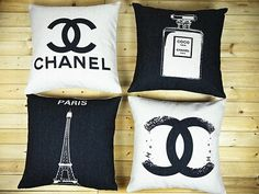 Chanel pillow cover Chanel Cushion Cover Pillow by MicorNature, $15.50