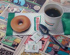 Krispy Kreme Comics | Images From Photorealism Artist Doug Bloodworth