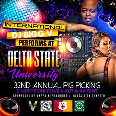 Top Flyer of the Day! International DJ Bigg V Performs at Delta State University flyer Designed by graphixfly For more info please contact Web: www.graphixfly.com | Email: graphixfly@gmail.com Turn Around Time 1 day #graphixfly #Flyer #LoungeFlyer #ClubFlyer #TakeOver #Hiphop #rap #party #lounge #OldSchoolFlyer #R&B #CocktailParty #BdayFlyer #NightClubs #OfficialParty #AfterParty #MixtapeParty #djs #BarAndGrill #OfficialAfterParty #MixtapeRelease