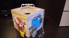 Two Gifts for Baby, busy board, geoboard, activity board, busy box, sensory board, sensory toys, wooden toy, latch board, travel board, lock