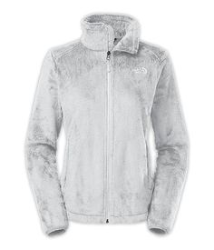Women's Osito 2 Jacket in High Rise Grey ? TNF White, size Medium | $99