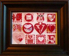 We made this at our Chickstamper January 2013 get together!! We used the Owl and Cupcake Builder Punches, postage, framelits, peekaboo die. Come & join us next month for another insert!!