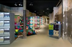 """Homewares shop   """"filocolores""""   barcelona   by garcés, de seta, bonet arquitectes."""