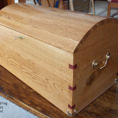 Wedding Chest Woodworking Plan by Brian Haack